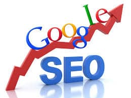 free seo audit checklist - increasing sales graph with Google on top and seo below