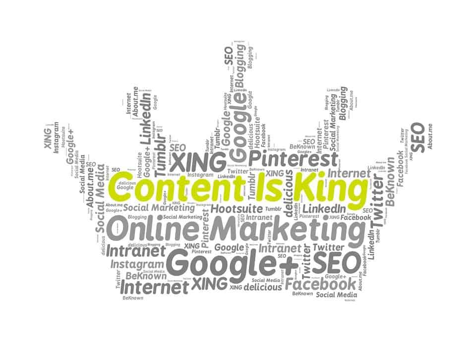 content is king in seo the truth